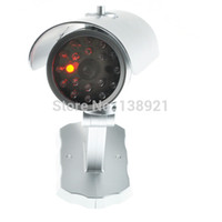 Wholesale Realistic Looking Dummy Fake Camera Home Surveillance Security Camera Motion Sensor Cam CCTV