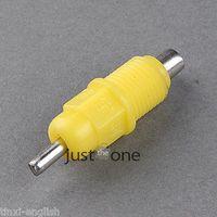 automatic livestock waterer - 10 Waterer Screw Nipple Drinker for Chicken duck Poultry Livestock in Yellow