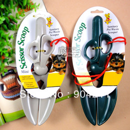 Wholesale NEW Pet dog cat Pooper Scoopers Toilet Excrement clamp trash tool shovel dog products