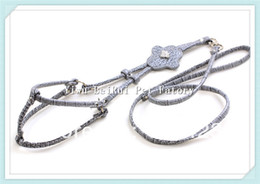 Wholesale Berry Leatheroid Step in Dog Harness Small amp Medium Collar High Quanlity