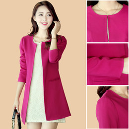 High Quality Long Style Blazer Women And Blaser feminino Suit Jacket For women Blazers Spring Female coat GM2000