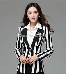 Wholesale New Uniform Style Women Work Wear Formal Blazers Fall Winter Feminino Fashion Slim Blaser Women Blazer Jackets Tops Clothes