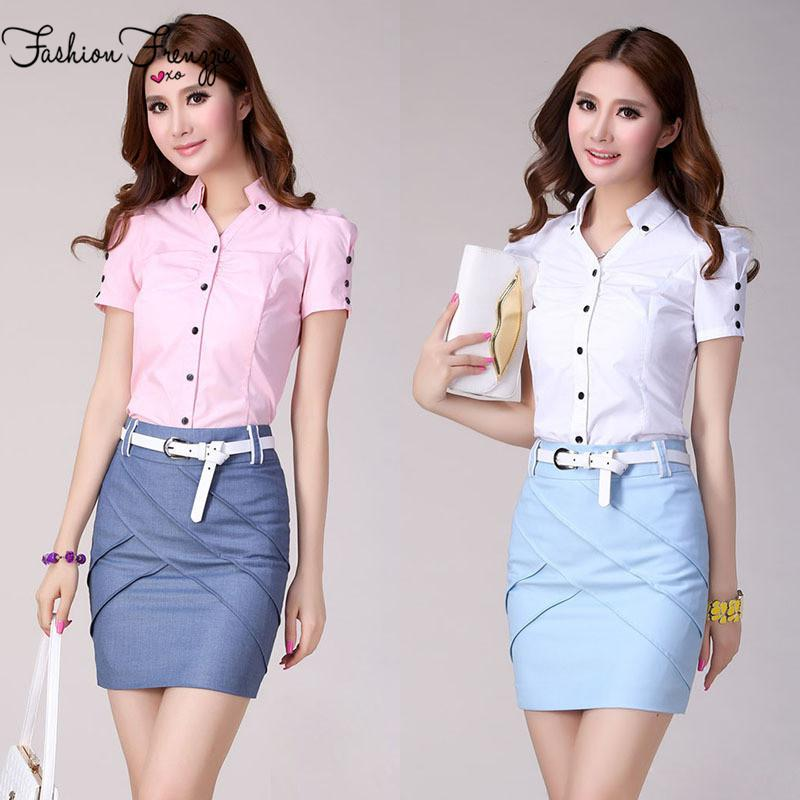 Where to Buy Women Formal Shirts Skirts Online? Where Can I Buy ...