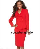 accept custom women suit - New Arrival Women Suit Custom Made Suits Suit Studio Suit Bow Collar Jacket amp Skirt Accept