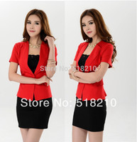 career suits for women - New Novelty Plus Size XL Professional Formal Women s Career Suits For Business Work Wear Clothing Sets Drop Ship
