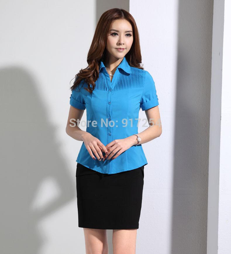 2017 new novelty slim fashion 2015 uniform design business for Office uniform design catalogue