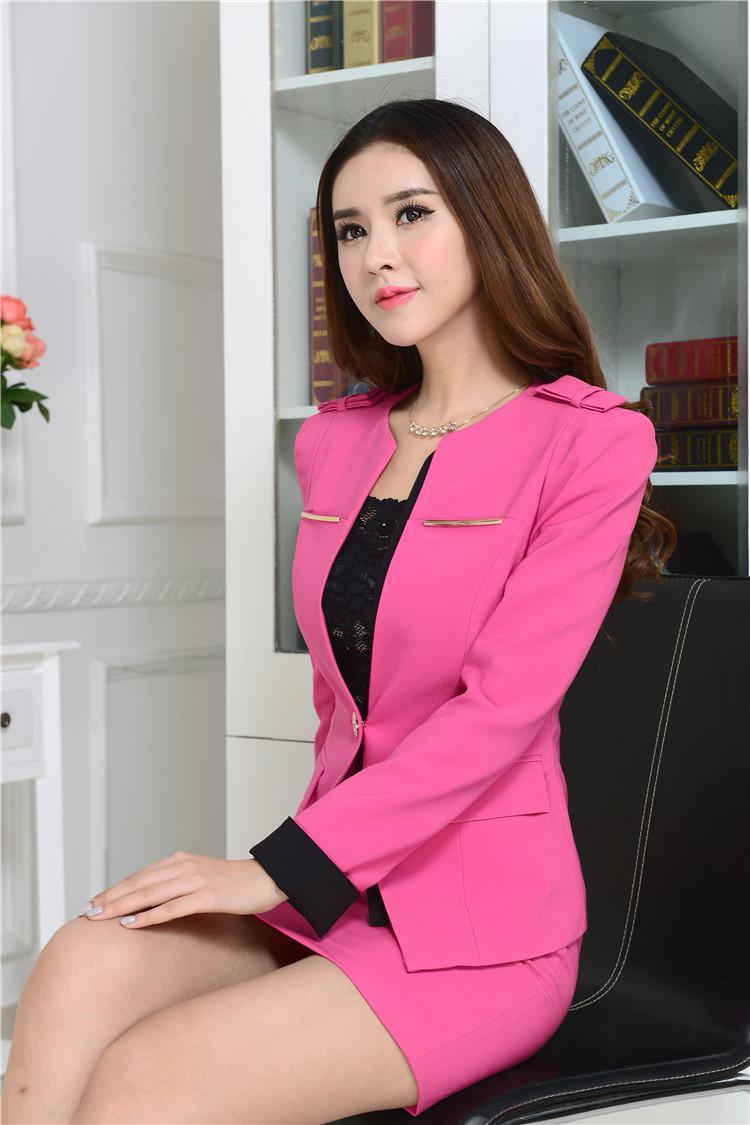 2017 Formal Uniform Design Business Women Work Wear Skirt