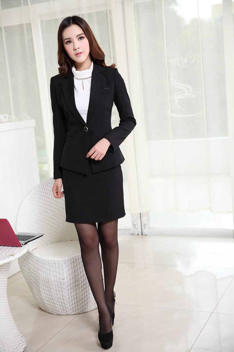 Womens Business Suits Formal Office Suits New 2015 Korean Fashion ...