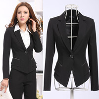 best work clothes - New High Class Best Selling Business Office Suits for Women Work Wear Fashion Women Clothing Coat Pants