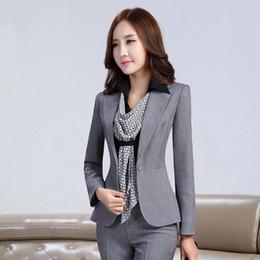 Discount Women Office Wear Pants Suits   2017 Women Office Wear ...