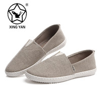 Wholesale 2015 New Arrivals Unisex Colors Round Toe Canvas Flats Women Shoes Casual Slip On Loafers PLUS SIZE Zapatos Mujer