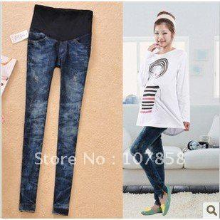 2015 New Spring Autumn Casual Maternity Jeans Pregnant Women Pants ...