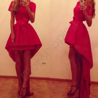 ankle length cocktail dresses - 2015 New Fashion Women Cocktail Dress Vestido De Festa Sexy Short Sleeve Party Dresses M L XL Drop Shipping B2