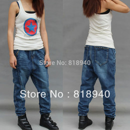 Discount Baggy Harem Jeans Women | 2017 Baggy Harem Jeans Women on ...