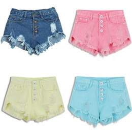 Colored Jean Shorts Online | Colored Jean Shorts for Sale