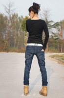 baggy jeans woman - 2015 Autumn winter Fashion Loose Baggy jeans