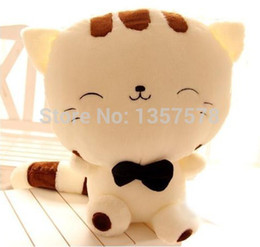 Wholesale HOT New The new plush toy doll cute big cat face cat doll doll pillow birthday gift ideas