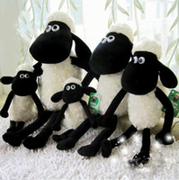 best lamb - 25cm Cute Shaun the sheep lamb plush toys Christmas gift bag sends kids baby toy Best gift