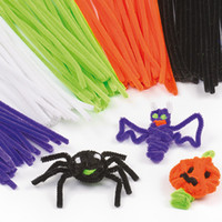 craft materials - 200pcs Children early Educational Toys DIY materials shilly stick Plush Stick handmade art and craft materials mix color