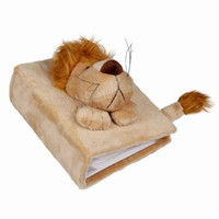 aquatic photos - 1pc High Lt Brown Lion D Plush Velour Toy Keepsakes Photo Album Skin Cover