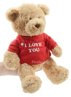 bear gift ideas - High Quality quot I Love You quot Soft Plush Teddy Bear idea for Sweet Gift