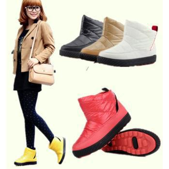 New 2015 Winter Boots Women Warm Boots Short Ankle Snow Boots ...