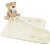 baby comforter toy - Baby Girls Boys Cream Toy Loved So Much Bear Blankie Comforter