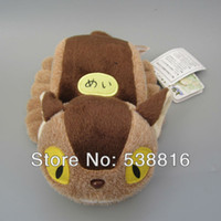 arrival buses - New Arrival cm My Neighbor Totoro Ghibli Plush Cat Bus Plush Dolls Toys Christmas Gifts