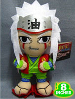 anime manga figure - New arrival Naruto Jiraiya Plush Doll Toys Figure inches Stuffed Anime Manga Birthday Present Gift