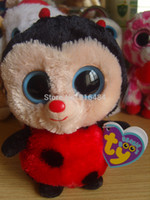 big ladybug - collection big eyes plush doll toy beanie Ladybug