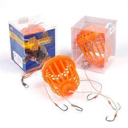 2017 crochets Carbon Steel Carp Fishing Hook Sea Monster avec Sinker Plomb forte explosion Crochets Fishing Tackle Set 9/10/11 # abordable crochets