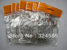 Wholesale 70CM Arms Fishing Stainless Steel Rigs Wire Leaders with Swivel Snap