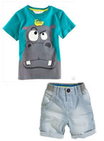 baby apparels - Boys Brand Clothing Sets New Kids Apparels Boy Clothing Set Baby Boys piece Sets T shirts shorts Summer Cotton Clothes