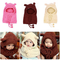 baby cape pattern - Baby Kid Toddler Winter Warm Hat amp Cloak Caps Cape Shawl Rabbit Pattern Wraps