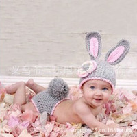 baby g manual - Yiwu Baby one hundred photo clothing props Little rabbit underwear suits manual hook weaving g