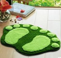 bath good mat - Lovely Feet flocking carpet absorbent non slip bath mats g piece Family essential goods
