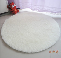 Wholesale 160 cm pink Round Washable super cute round rug living room bedroom bedside carpet upholstery computer mat