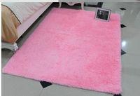 Wholesale 80 cm Pink Washable super cute round rug living room bedroom bedside carpet upholstery computer mat