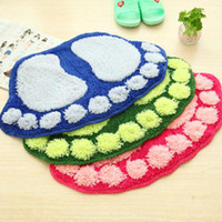 big pile - Cute Big Feet CM Available Colors Soft Carpets For Living Room Bedroom Kitchen Bathroom Absorbent Door Mat