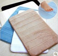 acrylic sandwich - floor Soft slow rebound memory cotton sandwich bathroom mats doormats bedroom carpet Doormat flower shape cm