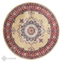 big coffee tables - Blended carpet Big size Persian carpet living room coffee table carpet ground mat round shape home decoration