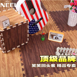 Wholesale Wood carpet baby fashion living room coffee table eva carpet child