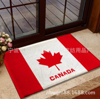 bathroom decorative accessory - Flag Carpet Decorative Bedroom Fleece Fabric Rugs And Carpets For Living Room Bathroom Kitchen Accessories Tapetes De Cozinha