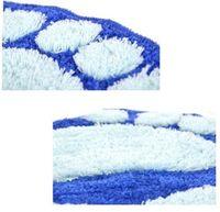 accent rugs - Top Foot Prints Bath Rug Footprint Shaggy Door Mat Accent Carpet Decor
