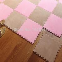 bathroom cube - living room bedroom children soft puzzle patchwork mat magic cube slip resistant carpet baby kids climbing rug CM CM
