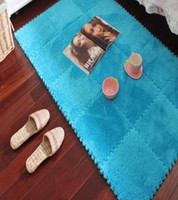 baby plush mat - S amp V Contracted and contemporary EVA Soft Shaggy floor area rugs Indoor Baby Plush Puzzle mats and and carpets for living room