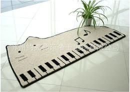 Wholesale NEW Piano carpet bedroom mat contracted mat bed blanket Cat Piano carpet kids door mat