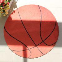 basketball carpet - 70 cm thicking Cartoon basketball pattern carpet boy child room carpet computer cushion game pad