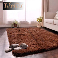 area black - 80 cm cm thicken amp SHAGGY super soft tapete carpet rug area rug slip resistant door mat kids rug for living room