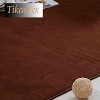 bath thickness - 40 cm Coral Material mm Thickness Super Soft Bath mat Area Rug for Living Room Bedroom Doormat Tapetes De Quarto
